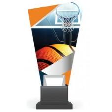 Γυάλινο αναμνηστικό μπάσκετ GS-TROPHY