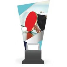 Γυάλινο αναμνηστικό ping-pong GS-TROPHY