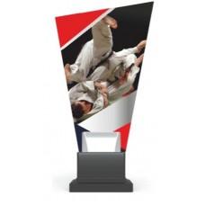 Γυάλινο αναμνηστικό judo GS-TROPHY