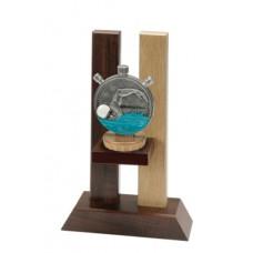 Ξύλινο έπαθλο κολύμβησης FWS-350