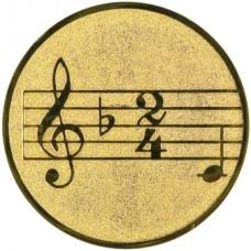 """Σήμα για μετάλλια """"ΜΟΥΣΙΚΗ"""""""